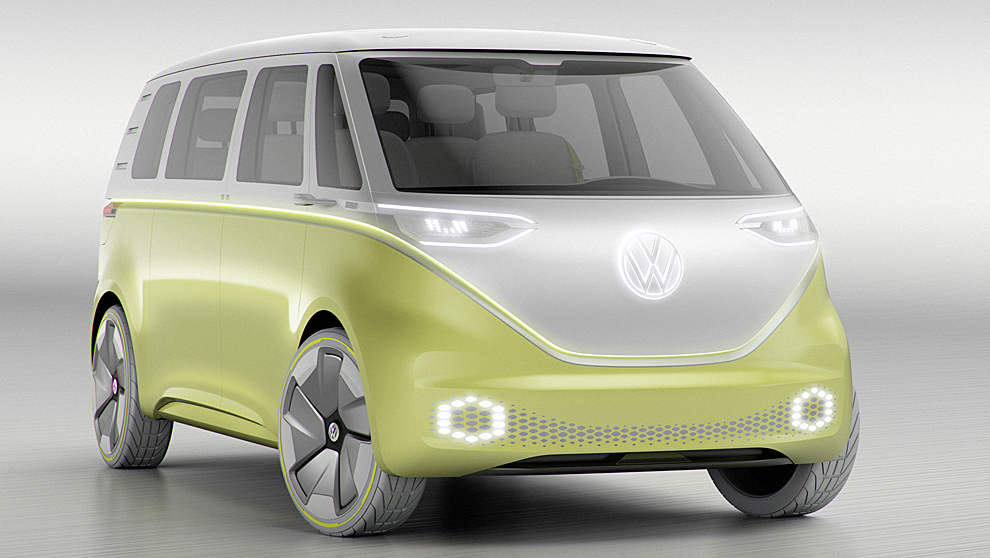 Volkswagen Reinventa La T1 Con Su I Z Buzz Concept Un Microbus