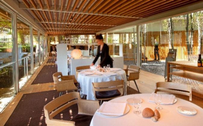 El comedor de El Celler de Can Roca puede acoger a 40 comensales.
