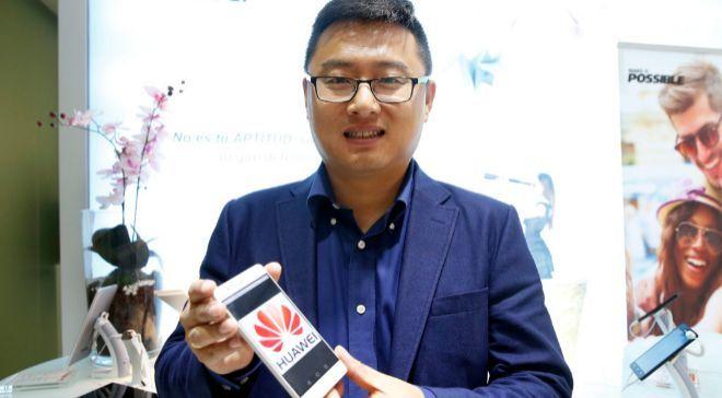 Pablo Wang, responsable de consumo de Huawei España.