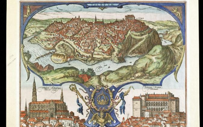 Uno de los grabados de la colección del Museo Sefardí de Toledo.
