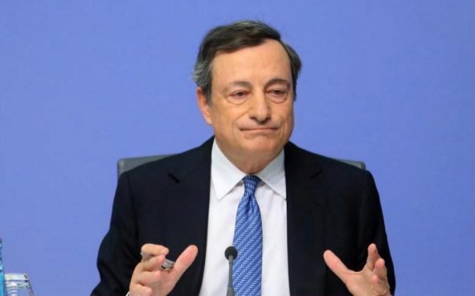 El presidente del BCE, Mario Draghi, ha sido una de las últimas...