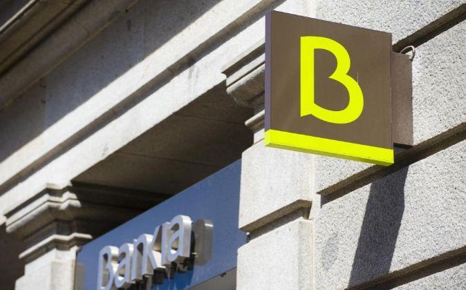 Logo de Bankia.