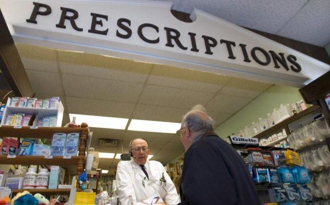 Imagen de una farmacia en Illinois, Estados Unidos