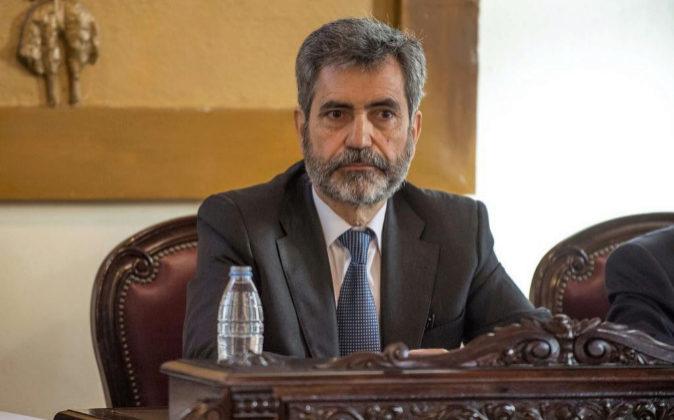 El presidente del Tribunal Supremo y del Consejo General del Poder...