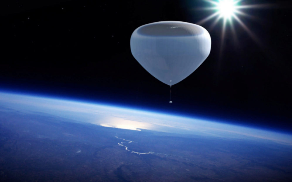 La firma barcelonesa Zero 2 Infinity utiliza globos de helio para...