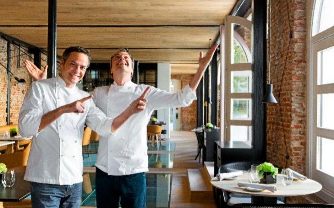 Javier y Sergio Torres, en Dos Cielos Madrid.