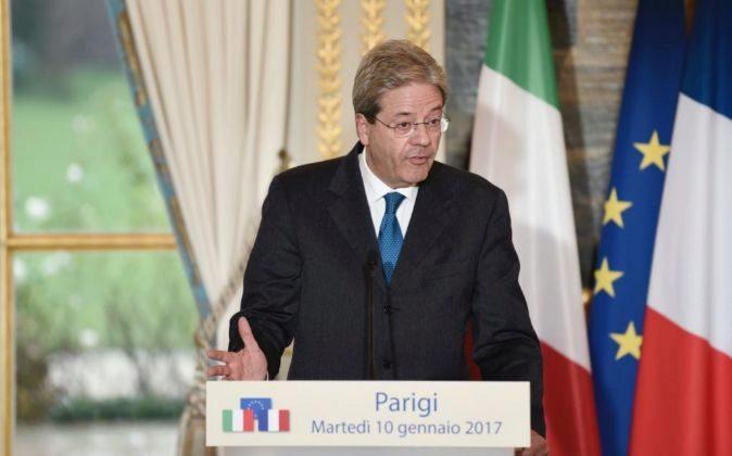 El primer ministro italiano, Paolo Gentiloni.
