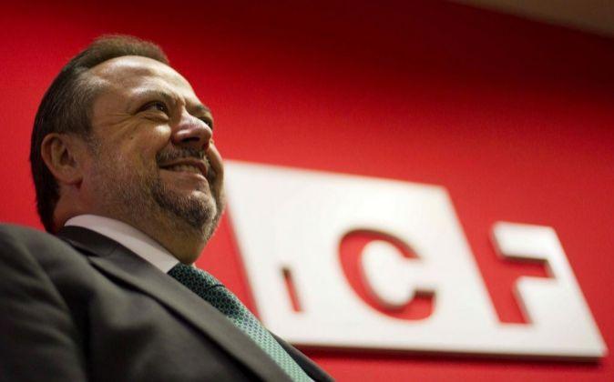 El consejero delegado del Instituto Catalán de Finanzas (ICF),...