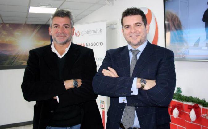 Los hermanos Juan y Luis Romero, fundadores y propietarios de la firma...