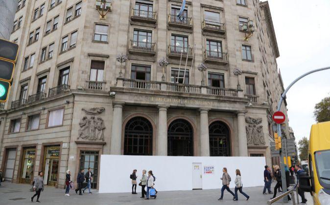Imagen del edificio que albergará la nueva tienda de H&M en...