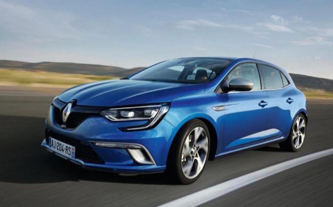 Renault Megane, uno de los modelos más populares de la marca...