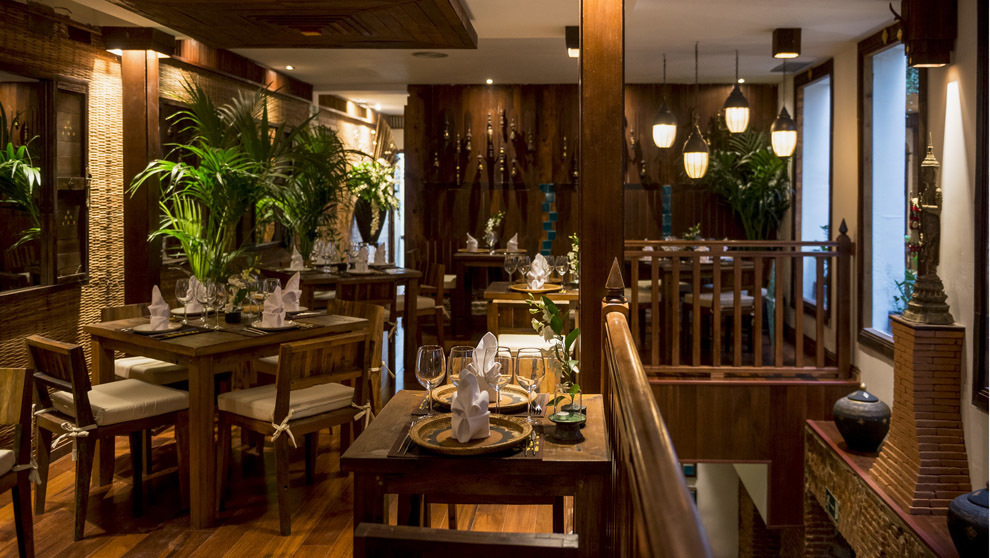 El nuevo restaurante Thai Garden dispone de dos pisos con patio...