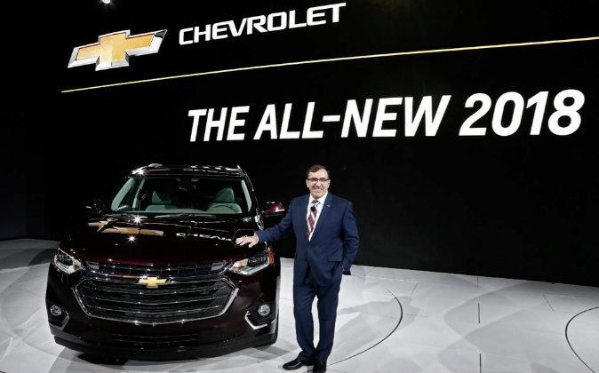 El presidente de General Motors para Norteamérica, Alan Batey,...