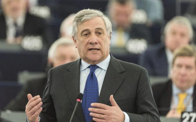Antonio Tajani, del Partido Popular Europeo, es el nuevo presidente de...