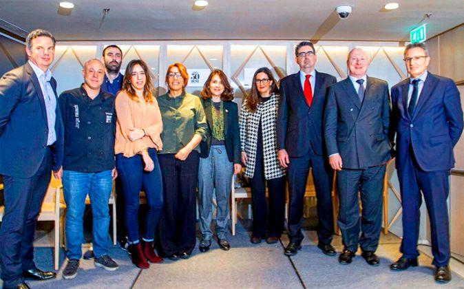 Un momento de la presentación de esta iniciativa, ayer en Madrid.