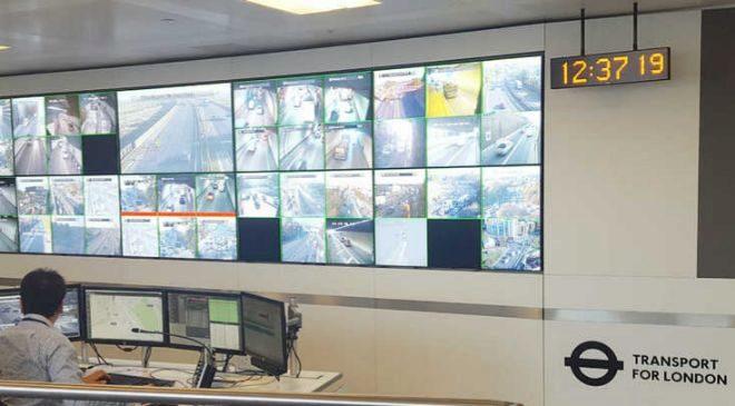 Centro de control de Indra en Londres.