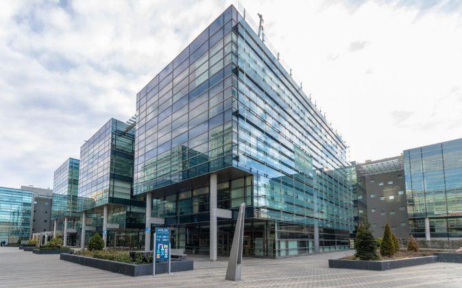 Imagen del complejo de oficinas Avalon de Madrid, donde la Socimi de...