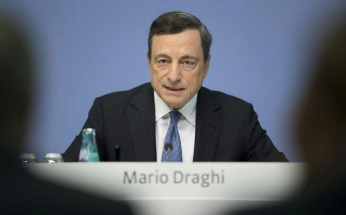Mario Draghi, el presidente del Banco Central Europeo (BCE).