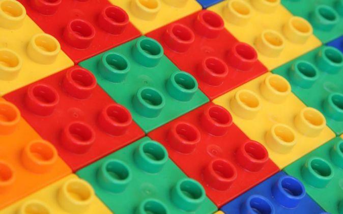 Piezas de Lego.