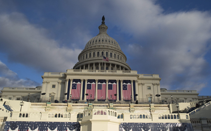 Todo preparado para recibir al nuevo presidente de EEUU.