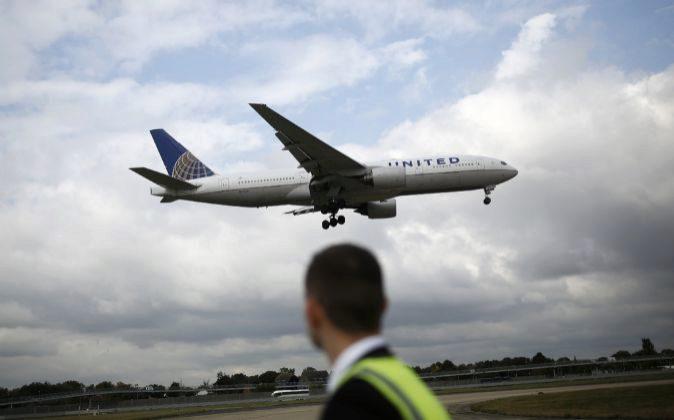 Avión de United Continental