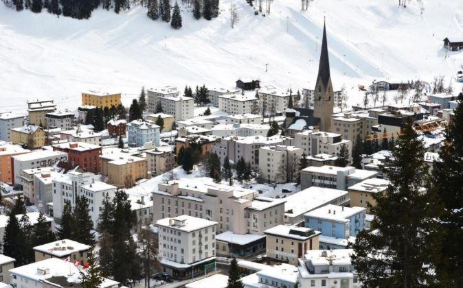 La ciudad de Davos.