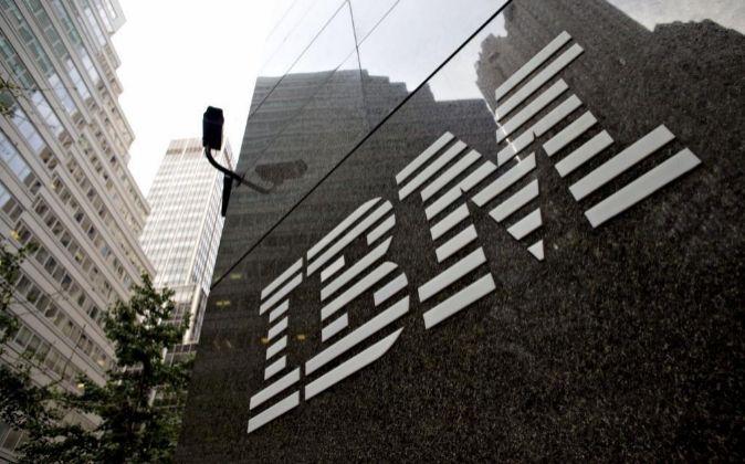 Logo de IBM.