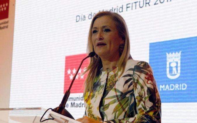 Fotografía de archivo de la presidenta de la Comunidad de Madrid,...