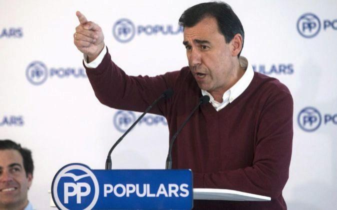 El vicesecretario de Organización y Electoral del PP Fernando...