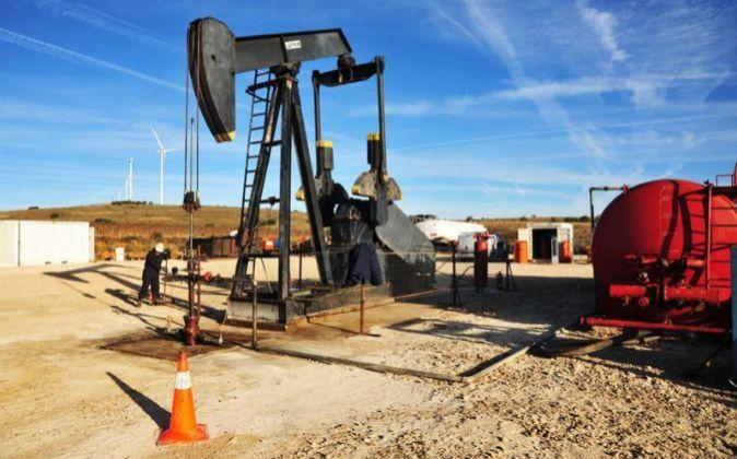 Pozo petrolífero de La Lora, en Ayoluengo (Burgos).