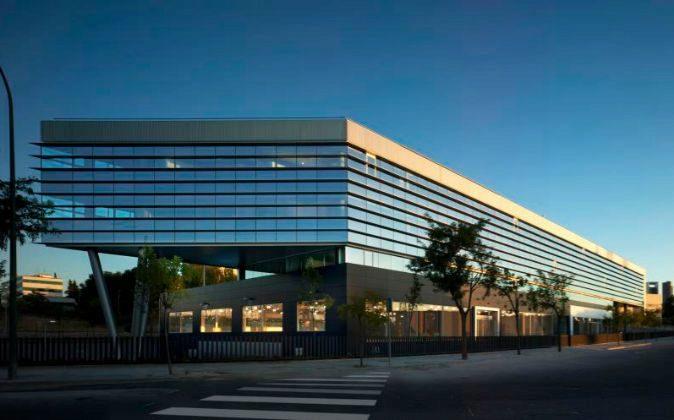 El edificio comprado por Axiare Patrimonio, está ubicado en la...