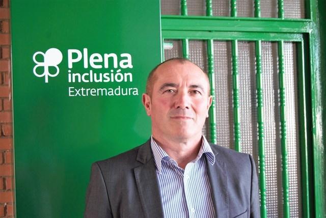Pedro Calderón, nuevo presidente de Plena Inclusión Extremadura.