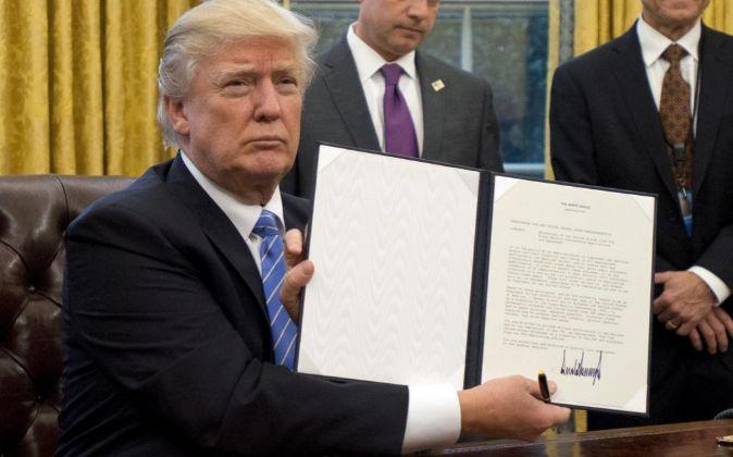 l presidente estadounidense, Donald Trump.