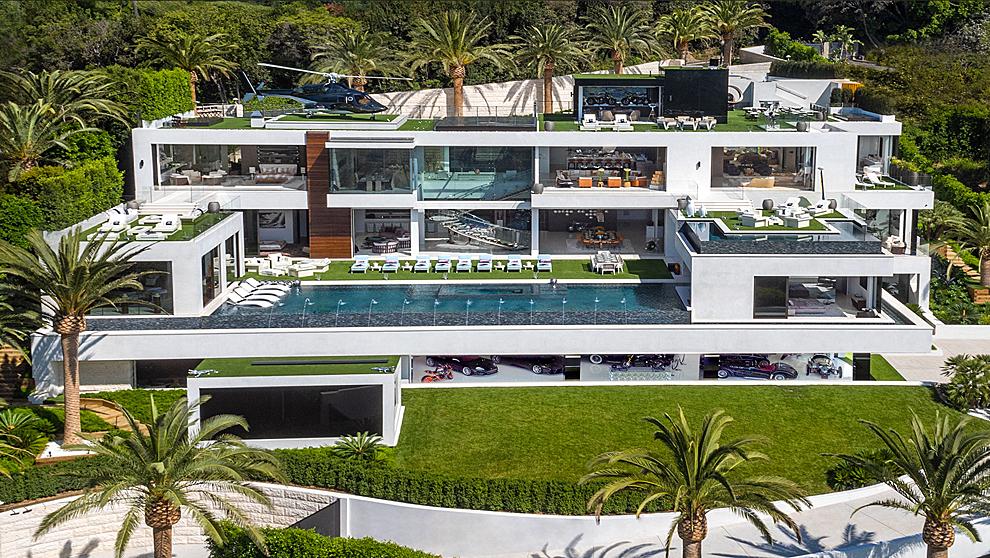 La casa más cara del mundo se encuentra en Bel Air, California y ha...