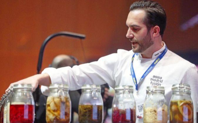 Mario Sandoval, de Coque, expuso sus investigaciones sobre los...