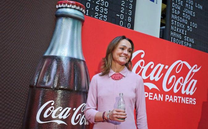 Sol Daurella, presidenta de Coca-Cola Iberian Partners, la mayor...