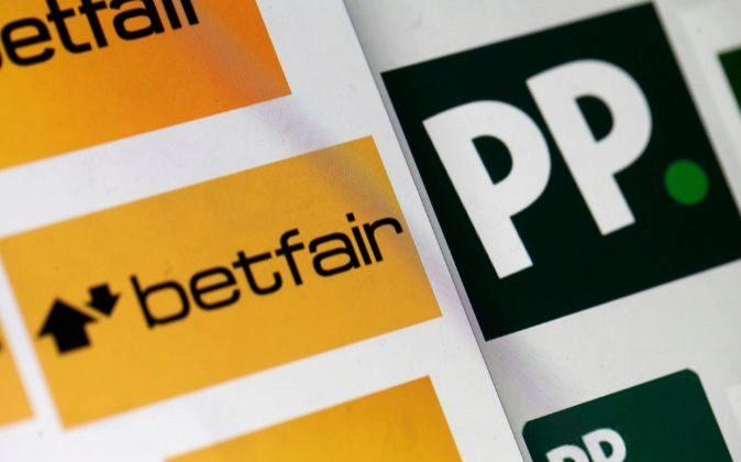 Logos de Paddy Power y Betfair.