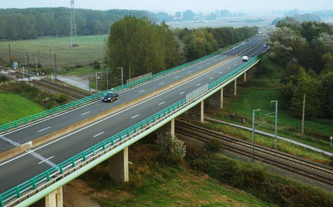 Autopista de Sanef en Francia