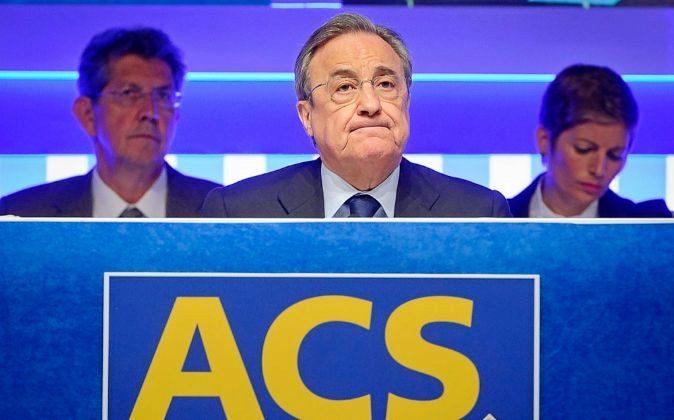 Florentino Pérez, presidente de ACS