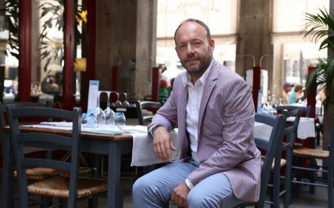Daniel Camós, presidente del grupo Andilana, en el restaurante Les...