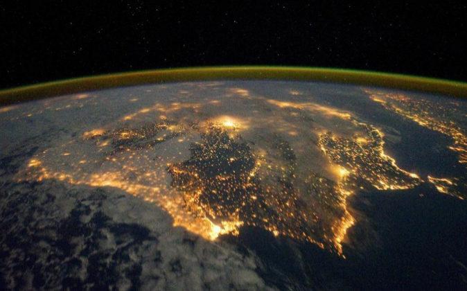 Imagen facilitada por el Observatorio Terrestre de la Nasa de la...