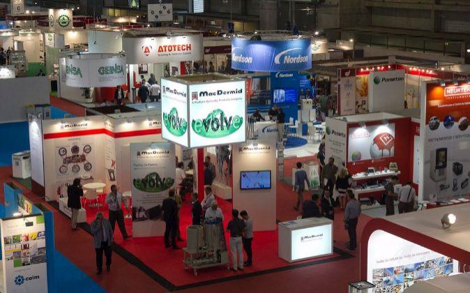 Imagen del salón de Expoquimia.