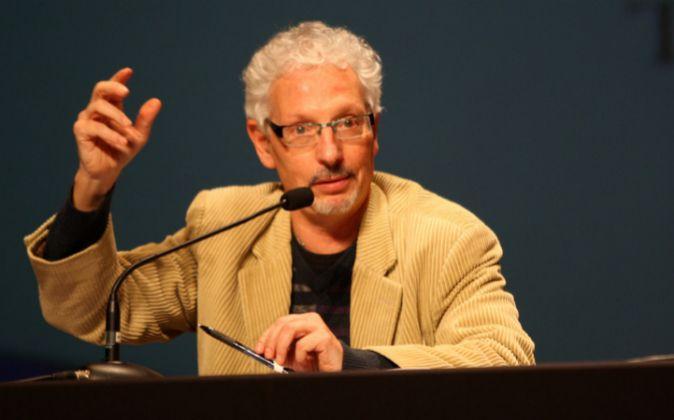 Santi Vidal, en una conferencia de la Assamblea Nacional Catalana en...