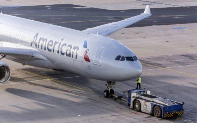 Avión de American Airlines