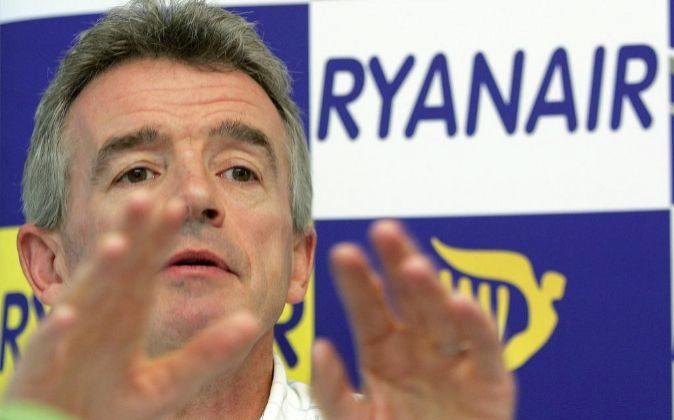 .Michael O'Leary, consejero delegado de Ryanair.