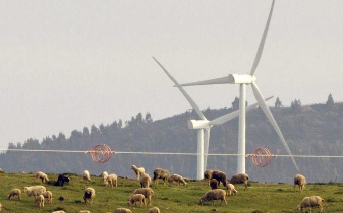 Molinos de viento.