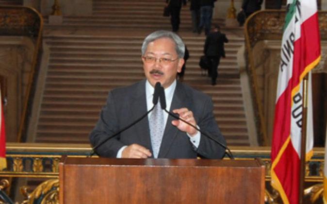 El alcalde de San Francisco, Edwin Lee.