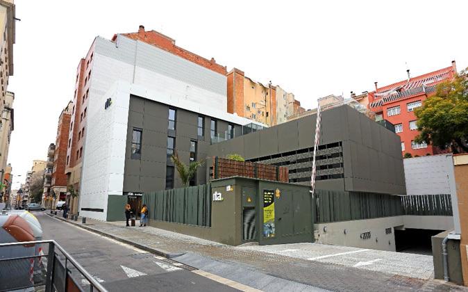 Instalaciones del Institut de Transtorns Alimentaris en la calle...