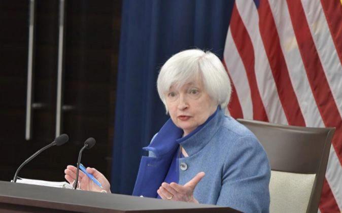 Janet Yellen, presidenta a la Reserva Federal de Estados Unidos.