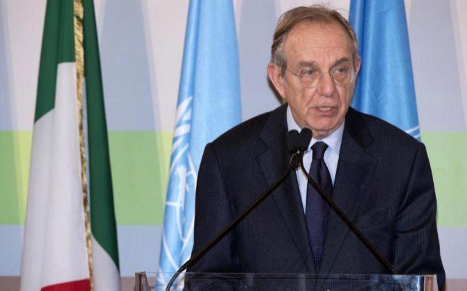 El ministro italiano de Economía, Pier Carlo Padoan.